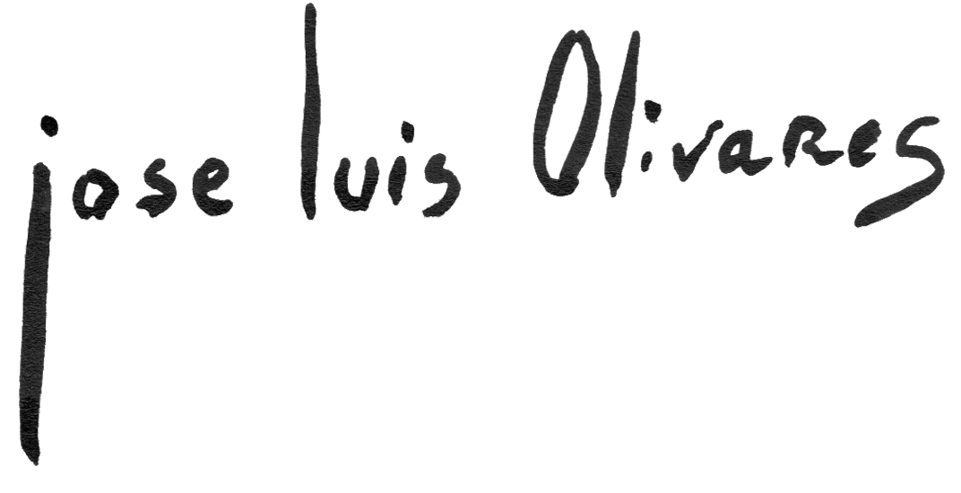 Jose Luis Olivares Visual Artist