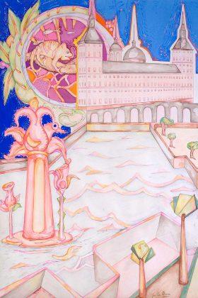 El camaleón y el Monasterio de El Escorial